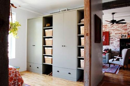 tủ âm tường cho phòng ngủ.