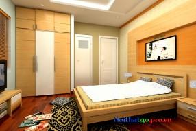 Giường cưới gỗ công nghiệp VNY