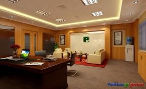 Thiết kế phòng Tổng Giám Đốc Phuc Loc