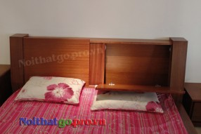 Giường cưới gỗ tự nhiên Ja-03