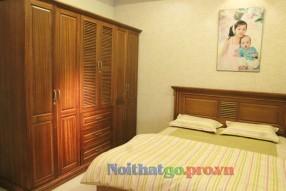 Tủ quần áo gỗ tự nhiên Vigo07