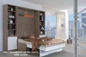Ghế giường gấp gỗ đa năng